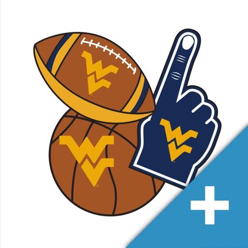 West Virginia Mountaineers PLUS Selfie Stickers