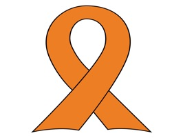 March is Kidney Cancer awareness month and the ribbon color is orange