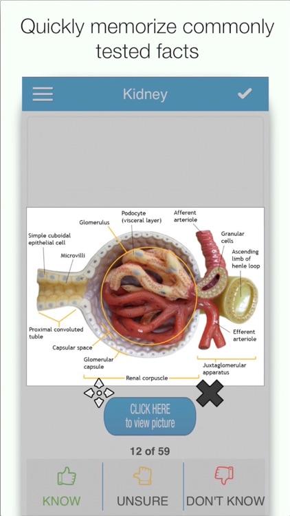 MCAT Biology Cram Cards screenshot-0