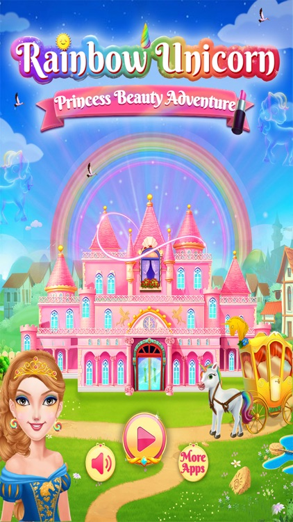 Rainbow Unicorn Princess screenshot-0