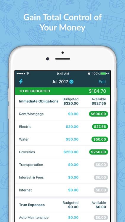 YNAB (You Need A Budget) screenshot-0