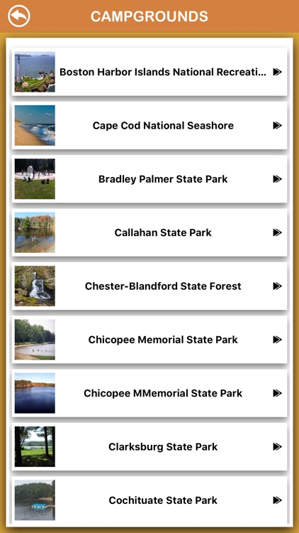 Massachusetts National Parks