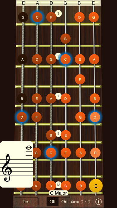 Screenshot for Guitar Sight Reading Trainer in United Kingdom App Store
