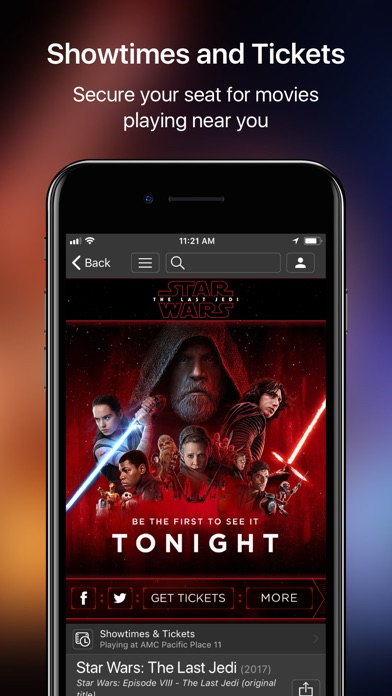 IMDb Movies & TV iPhone