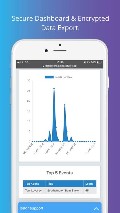 leadr Data Capture screenshot-3
