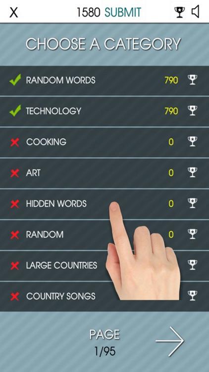 Word Search 2015 - Hidden Word
