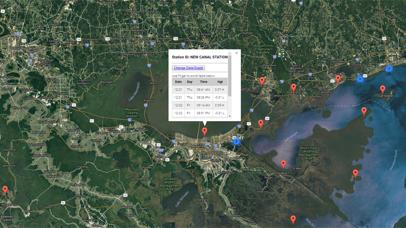 Louisiana Tides for Fishing Screenshot