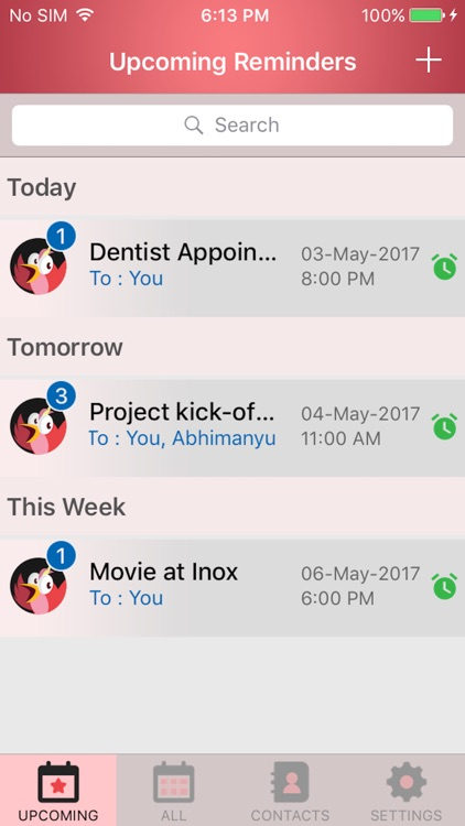 Remy: The Event & Reminder App