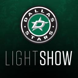 Dallas Stars Light Show