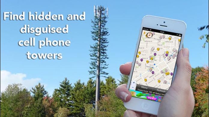 Cellular Network Signal Finder Screenshot