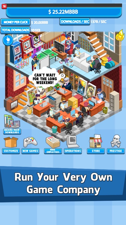 Video Game Tycoon: Tap Story screenshot-0