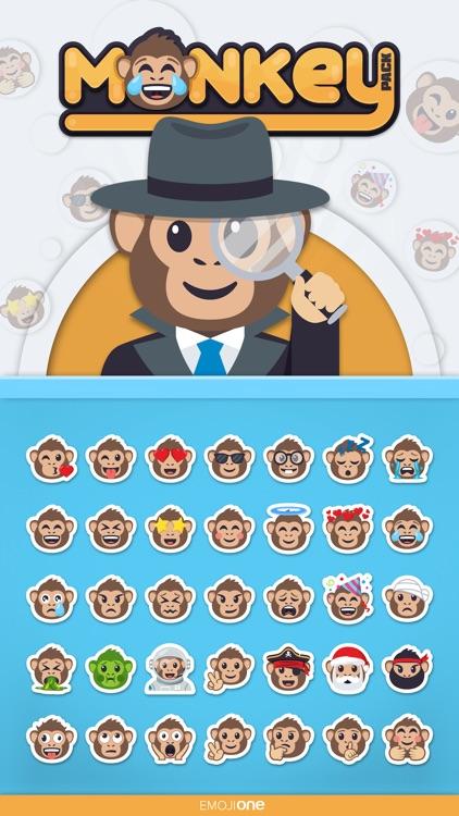 Monkey Pack by EmojiOne
