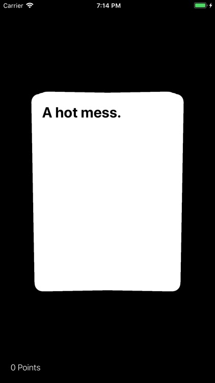 Awful Cards Black Edition