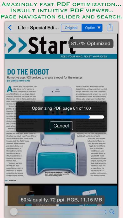 PDFOptim screenshot three