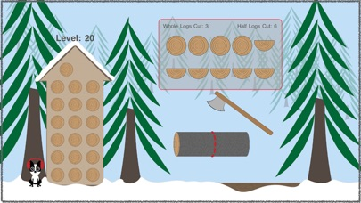 Screenshot for Winter Woodstack! in United States App Store