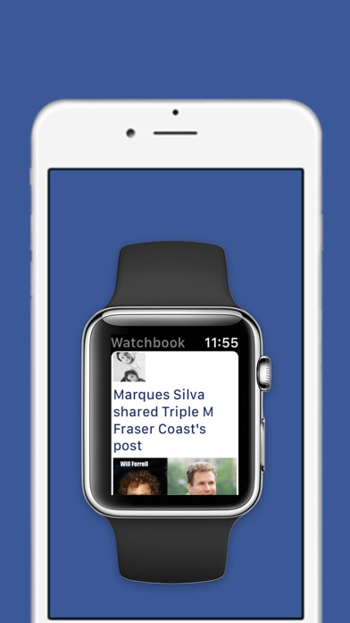 Watchbook - Watch for Facebook Screenshot 1