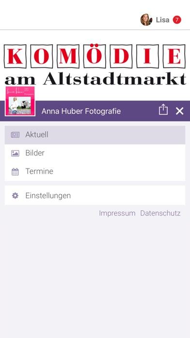 Anna Huber FotografieScreenshot von 2