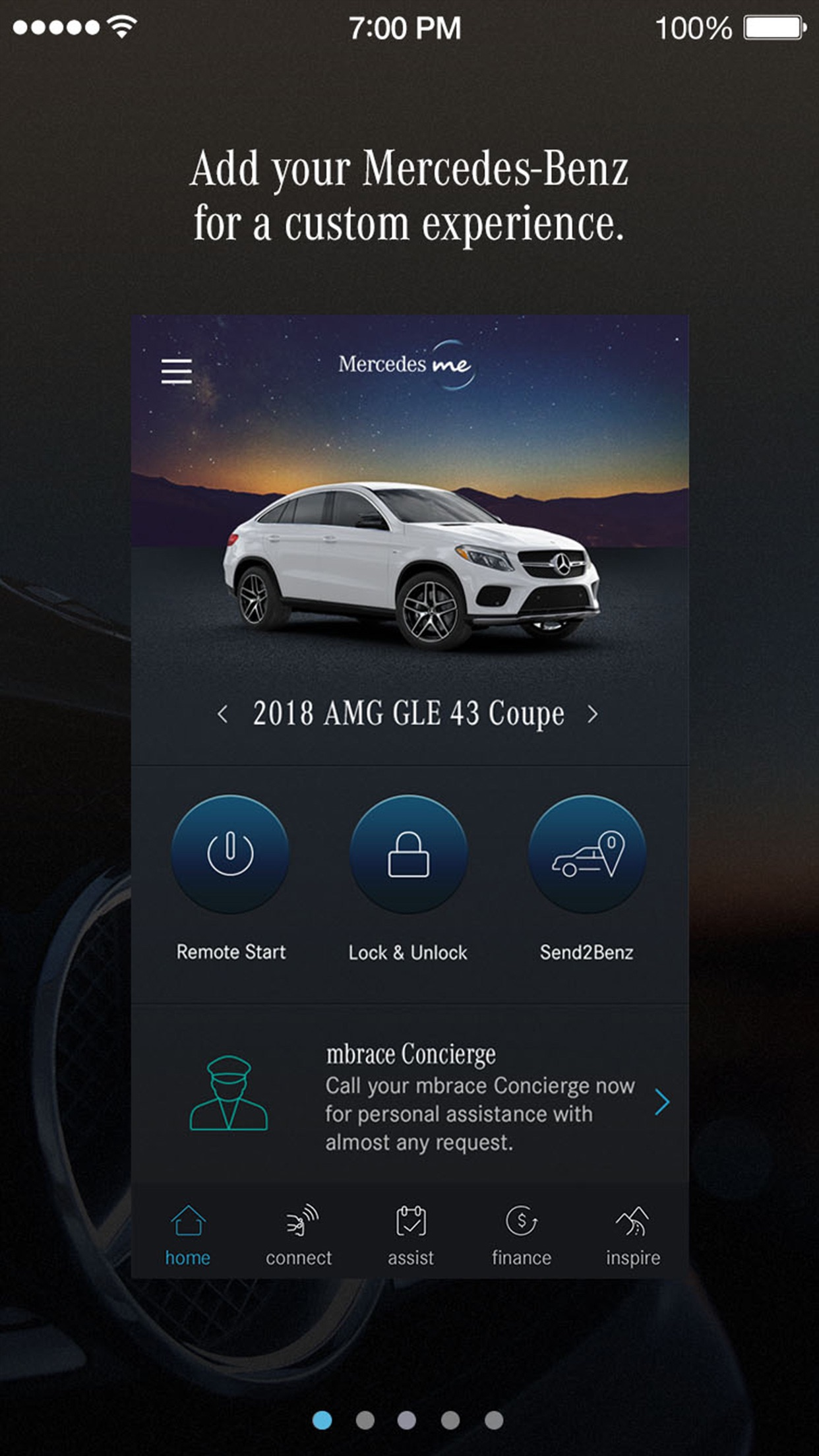 Mercedes me (USA) Screenshot