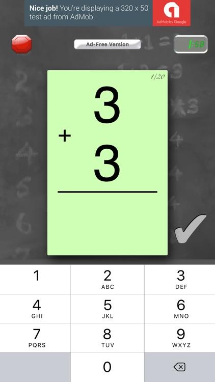 FlashToPass Free Math Flash Cards