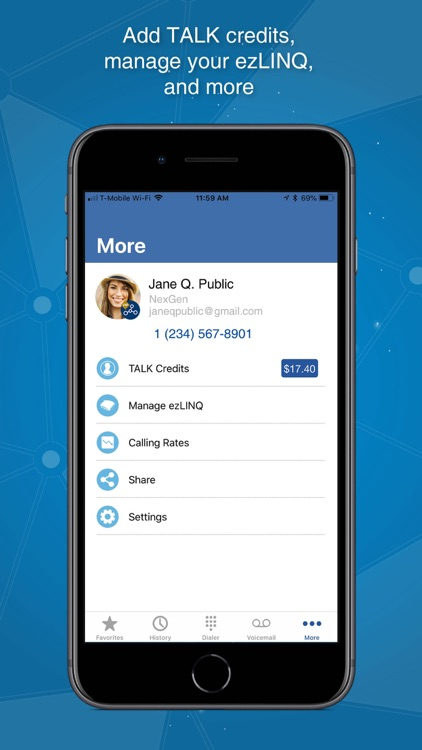 Mobile VoIP by netTALK screenshot-4