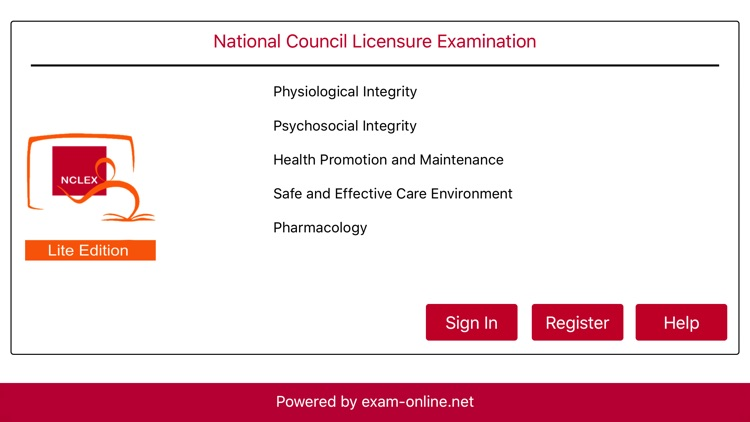 NCLEX Exam Online Lite screenshot-0