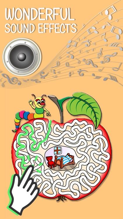 Fun labyrinth brain games.