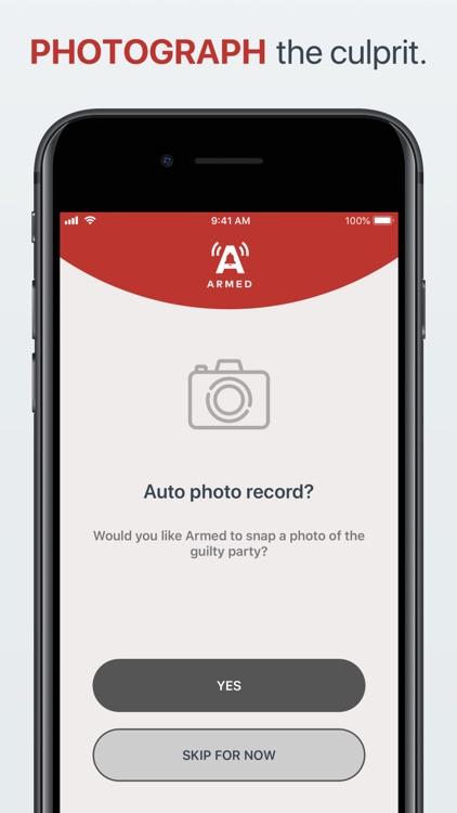 Armed - Secure Alarm screenshot-3