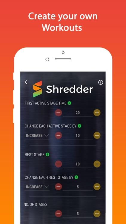 Shredder - HIIT Interval Timer