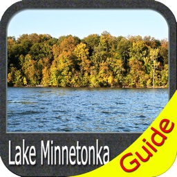 Lake Minnetonka GPS map offline fishing charts