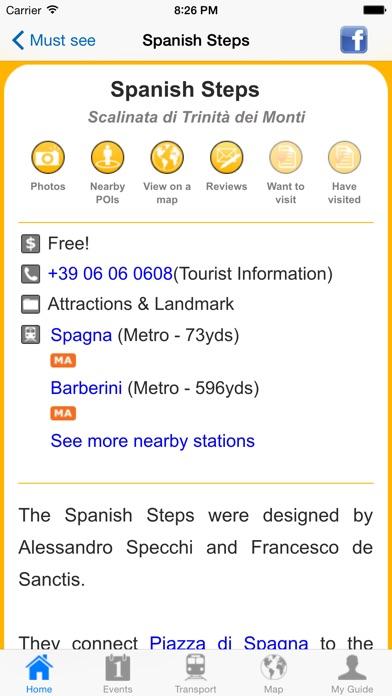 Rome Travel Guide Offline review screenshots