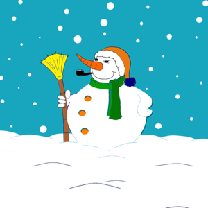 Holiday Snowman Stickers app