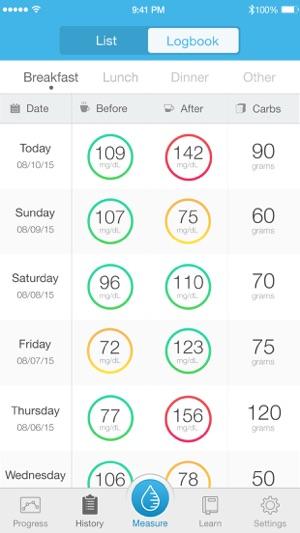 iHealth Gluco-Smart Screenshot