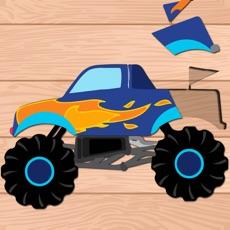 Activities of Kids Vehicle Puzzle: Preschool