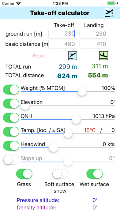 Screenshot for Take-Off Distance in Japan App Store