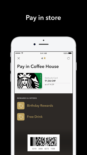 Starbucks Switzerland Im App Store