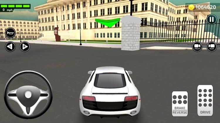 Driving Trump Car Simulator 3D screenshot-0