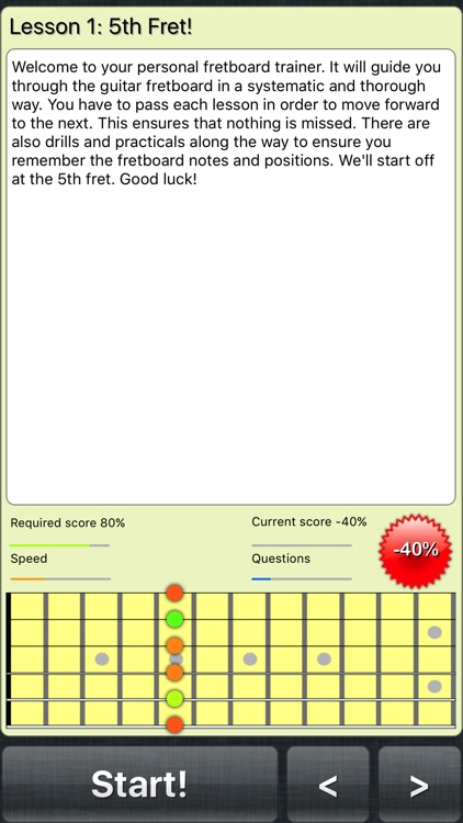 FretWiz: Fretboard Trainer screenshot-0