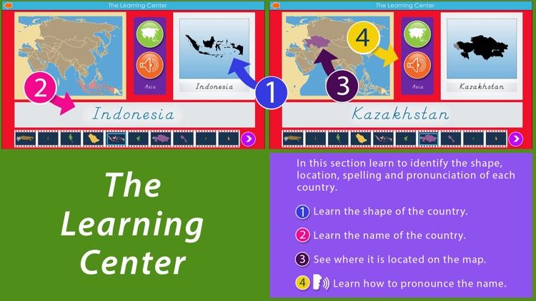 Asia - Montessori Geography