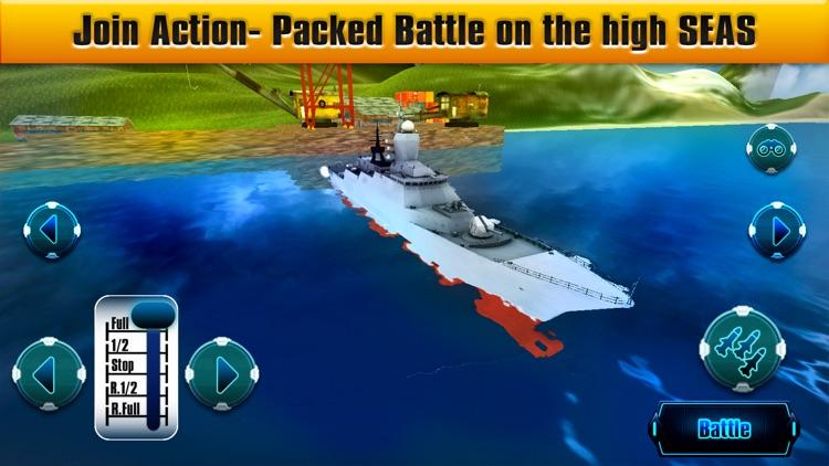 WarShip Battle Naval WarFare screenshot-3