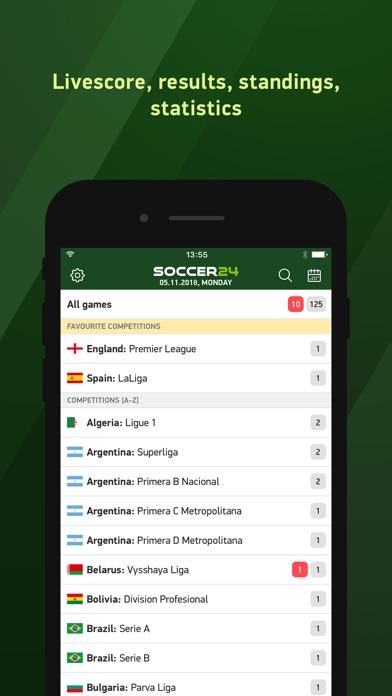 download Soccer 24 - soccer live scores apps 0