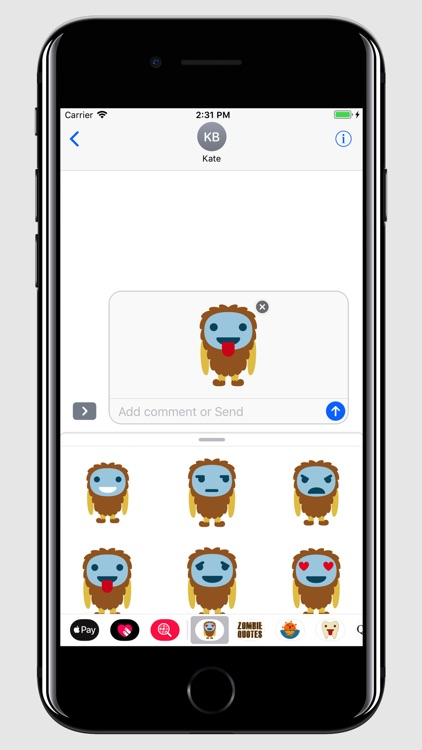 Yeti - Smiley and Emoji