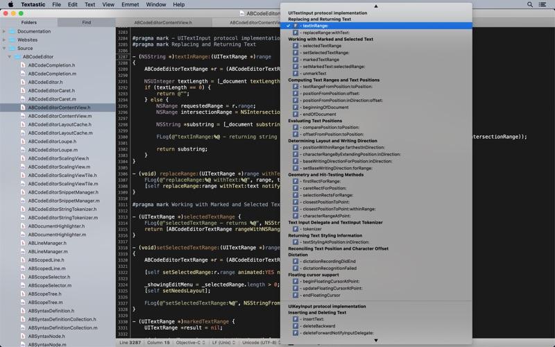 代码,文本编辑工具 Textastic for Mac