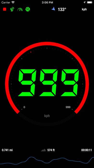 Speedometer® screenshot one