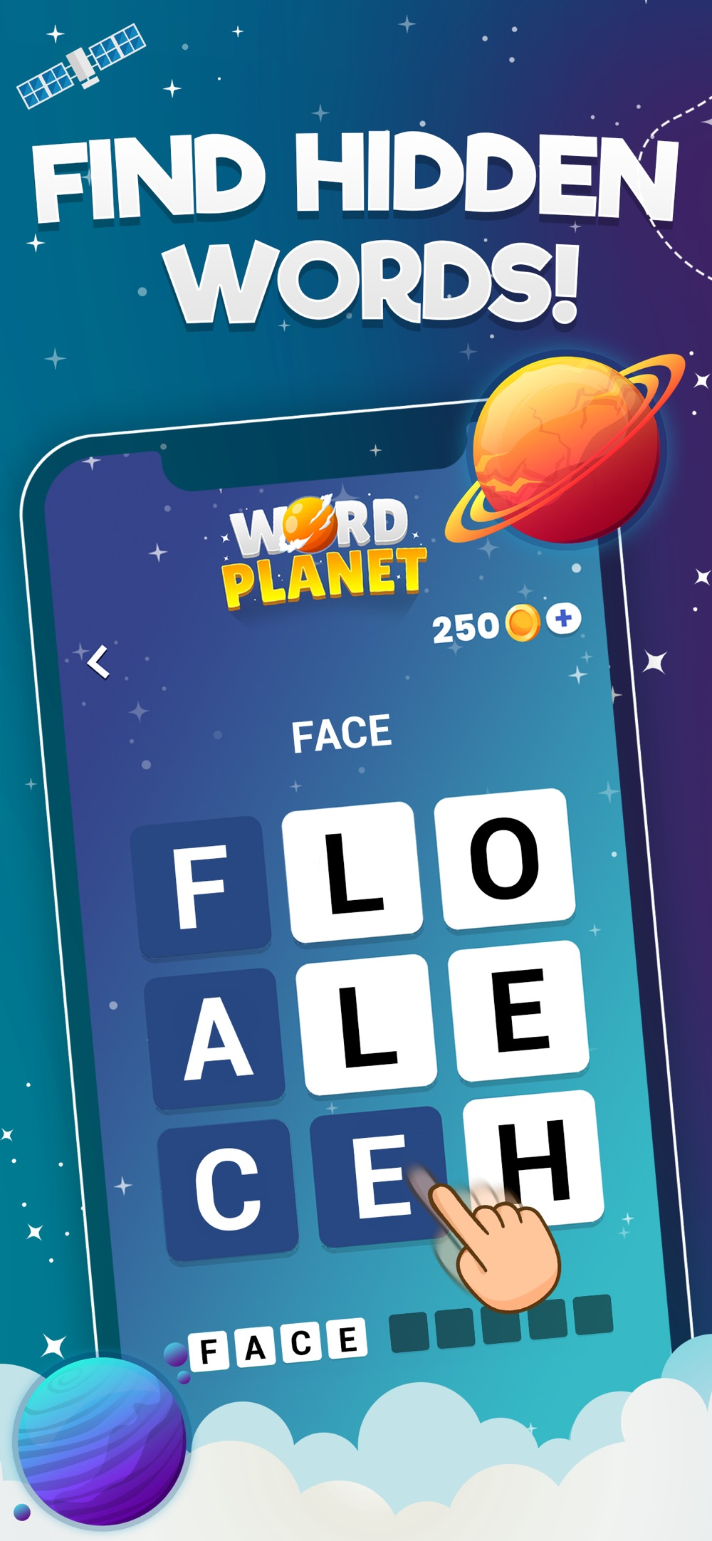 Word Planet! Cheat Codes