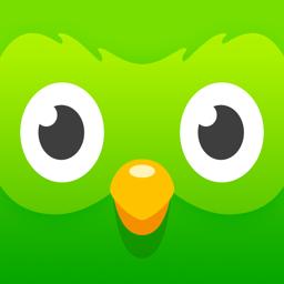 Ícone do app Duolingo