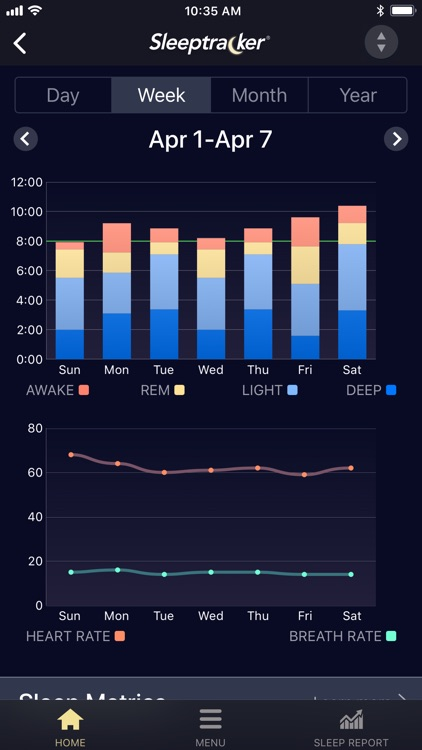 Sleeptracker® screenshot-2