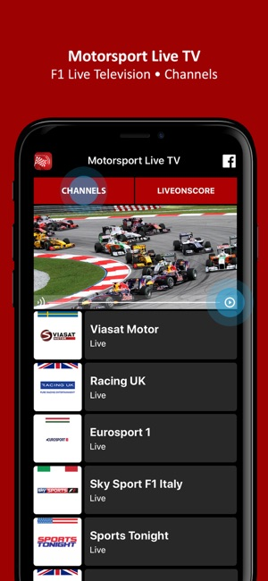Motorsport Live TV - FI TV on the App Store