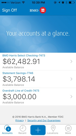 Bmo harris mobile banking on the app store iphone screenshots reheart Gallery