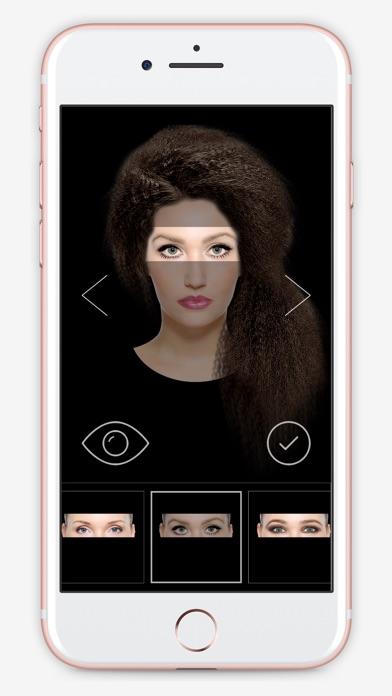 приложение безумный фоторобот глаза такие