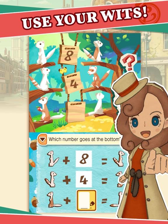 Screenshot #2 for Layton's Mystery Journey